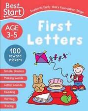 BEST START FIRST LETTERS AGE 3-5 _____ BRAND NEW __ FREEPOST UK