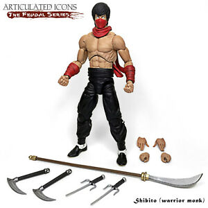 Fwoosh Articulated Icons Feudal Series Shibito (Warrior Monk)