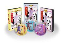 Yang Style Taichi Series Tai Chi Boxing Taijiquan I,II,III by Yang Zhenduo 3DVDs