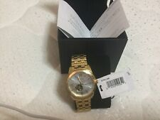 Bulova Men's Gold-Tone Stainless Steel Automatic Watch