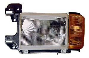 1990-1991 Ford F-150/F-250/F-350/Bronco New Left/Driver Side Headlight Assembly