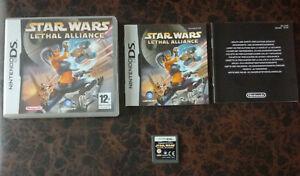 Star Wars Lethal Alliance - Nintendo DS - Complet - FR