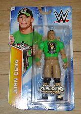 2014 WWE WWF Mattel John Cena Wrestling Figure MIP Figure Superstar Entrance