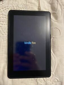 "Amazon Kindle Fire 1st Generation  8GB - 7"" - WI-FI - Black Tablet"