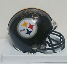 Greg Lloyd Signed Autographed Mini Helmet  w/JSA COA - Pittsburgh Steelers