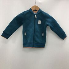 New Baker By Ted Baker Jacket Childrens Size 3-4 Years Blue Pocket Casual 290377