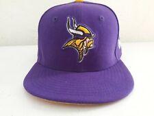 Minnesota Vikings New Era 59FIFTY NFL Fitted Cap Hat Size: 6 3/8 Kids Free Ship