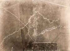 Rumpler Trench France Military aerial Photo WWI 1917