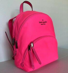 New Kate Spade New York Karissa Nylon Medium backpack Radiant Pink