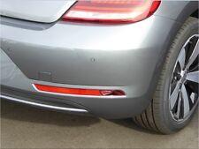 Chromstreben für VW Beetle 5C Facelift Reflektoren Stoßstange Tuning Volkswagen