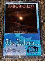 BATHORY The Return... VG Cassette Tape Hard to Find  Black Metal