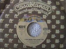 "KISS ""I WAS MADE FOR LOVING YOU"" / ""HARD TIMES"" 7"" 45 1979"