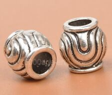 20Pcs Tibetan silver charms loose golf spacer beads Fashion Jewelry 9MM A3293