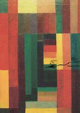 Kunstkarte: Johannes Itten - Horizontal Vertikal