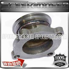 """Turbo adapter 2.5"""" 2 1/2"""" V-Band Flange to Trubo GT35 GT3582 4 Bolt Adaptor"""