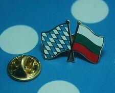 Freundschaftspin Bayern Bulgarien Pin Button Badge Pins