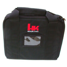 H&K Black Soft TACTICAL PISTOL CASE Heckler & Koch HK45 P30 USP P2000 VP9 P30