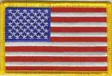 Aufn��her USA Fahne Flagge Aufbügler Patch 8 x 5 cm