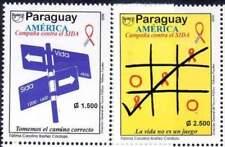 Timbres de l'Amérique latine série
