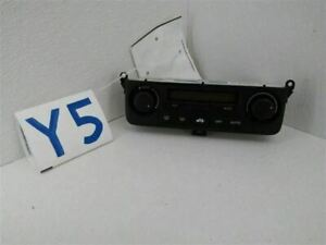 1999-03 Acura RL Temperature Control With Navigation System Fits