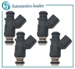 4Pcs Fuel injectors 96487553 For Chevrolet Aveo5 06-08 Pontiac Wave5 05-07 1.6L