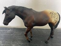 Vintage Breyer Horse #174 Indian Pony 1973-1985 Dark Bay Appaloosa Traditional