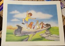 Disney 3 Lithograph Winnie the Pooh's Grand Adventure