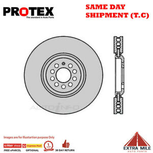 Ultra Select Front Rotor Pair For AUDI TT/VOLKSWAGEN GOLF 3.2L