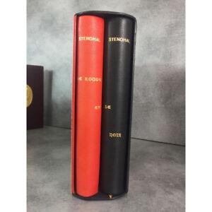 Stendhal Trouillot Le rouge et le noir Hors commerce numero 4  sur grand papier