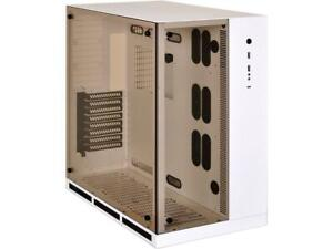 LIAN LI PC-O11WW White Aluminum / Steel ATX Mid Tower Cases (Computer Cases - AT