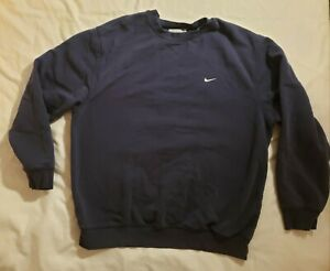 Vintage Y2k Nike Mens L Embroidered Swoosh Crewnexk Sweatshirt Travis Scott