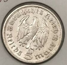 Germany 1935-1936. Third Reich, 5 ReichMark Silver Coin. Each Sold Separately.