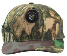 1 Watt LED Baseball Cap Camo Batteries inc Hands Free Light Camping Fishing Work