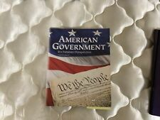 ABeka American Government in Christian Perspective 3rd Ed. Grade 12 Student Text