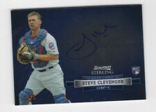 Steve Clevenger AUTOGRAPH Chicago Cubs 2012 Bowman Sterling AUTO Baseball Iowa