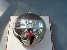 Wallace Silver Plated Sleigh Bell 4th edition 1974 NO box