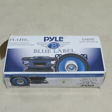 """New listing Pyle Pl42Bl One Pair 4"""" Two-Way Coaxial Speakers 180 W"""