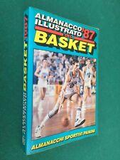 ALMANACCO ILLUSTRATO DEL BASKET '87 1987 Panini , Libro sportivo Foto squadre