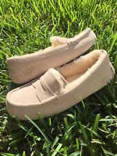 Ugg Kids Violette Mocassin Slippers Freshwater Pearl Size 5