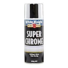 White Knight 300g Super Chrome Spray Paint