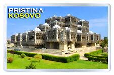PRISTINA KOSOVO FRIDGE MAGNET SOUVENIR IMAN NEVERA