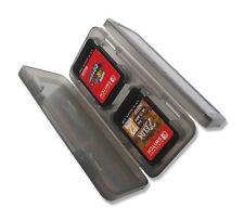 4 X Nintendo Switch transparente negro caso titular tarjeta de juego vendedor de Reino Unido