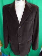 Vintage Furest European Plush Dark Brown Velvet Jacket Formal Prom Tuxedo M