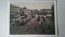 Nice,France B&W Museum Postcard Trams c1925 La Place Massena by Jean Gilletta