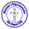 Garçon Personnalisé Première Communion Eucharistie Stickers Sac de Faveur