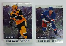 2020-21 Upper Deck Allure Hockey ICED OUT Insert Cards (Pick Your Own) 1:8