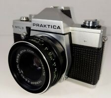 ❤ Vintage Praktica MTL3 Carl Zeiss Jena Tessar 2.8/50 Lens & Case Very Good!!👌