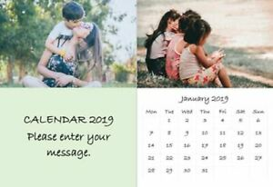 2021 Personalised A4 Wall Calendar with your own photos