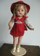 """Beautiful Antique 1930's Composition Petite Sally 16"""" Doll"""