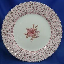 """A JOHNSON BROTHERS 'ROSE BOUQUET' 9¾"""" DINNER PLATE"""